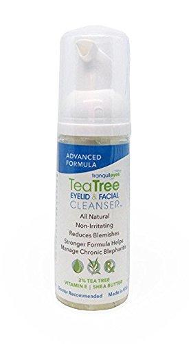 Advanced Formula Tea Tree Eyelid and Facial Cleanser (50 mililiters)