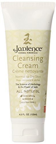 Jadience Cleansing Cream - Normal to Dry Skin –  Intensive Moisture Balance Green Tea Face Wash - Skin Regeneration – 4.5 Oz