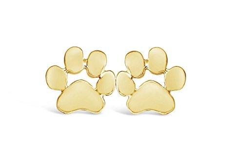 Rosa Vila Jewelry Yorkie Paws Earrings