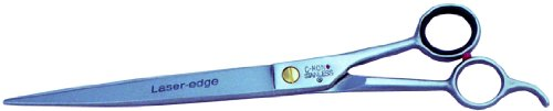 Heritage 07811C Pinnacle Professional Barber & Beauty Shear, Curved/Serrated Blade, 10-Inch