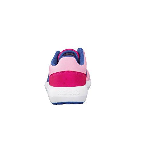 adidas Cloudfoam Race K, Chaussures de Tennis Mixte Enfant, Rose (Rossua/Azubas/Rosfue), 36 EU