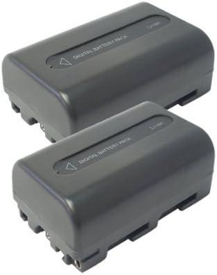 【掘出】2個セット SONY/ソニー NP-FM50 互換バッテリー