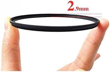 GREEN.L Slim MRC UV 77mm 12-Layer Multi-Resistant Coated Ultra Violet Filter Protect Lens