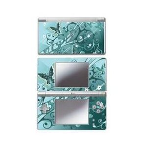 - Mightyskins Protective Vinyl Skin Decal Cover Sticker Compatible with Nintendo DS Lite - Butterfly Blues