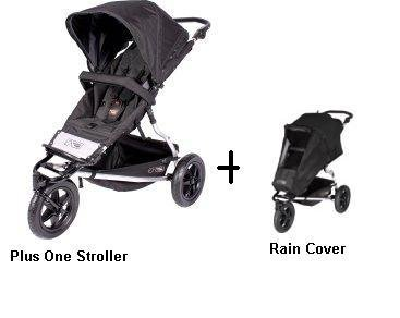 Mountain Buggy Plus One Stroller and Rain Cover by Mountain Buggy (Image #1)