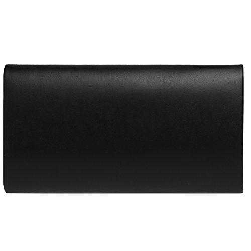 Sobre Cadena Caspar Fiesta De Negro Tipo Mano Bolso Ta410 Elegante Mujer Con Desmontable Para clutch qw17qvBxnS