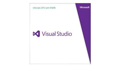 Microsoft Visual Studio Ultimate with MSDN Retail 2012 Programs - Ultimate Studio 2012 Visual