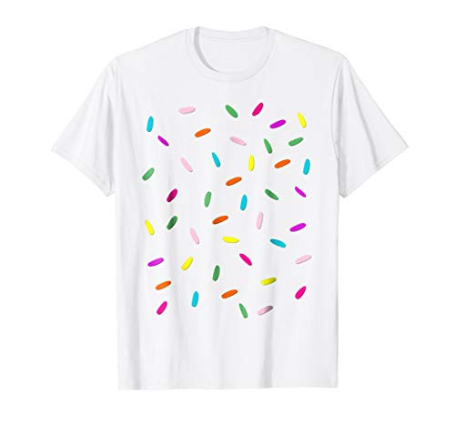 Rainbow Sprinkles Ice Cream Costume Shirt - Halloween
