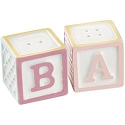 Kate Aspen 23147NA Baby Blocks Salt & Pepper Shakers