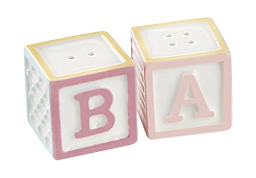 (Kate Aspen 23147NA Baby Blocks Salt and Pepper Shakers)