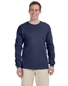 Fruit of the Loom 5 oz.Heavy Cotton HD Long-Sleeve T-Shirt (4930) -Denim -3XL