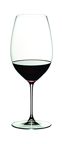 - Riedel 6449/30 Veritas Shiraz Wine Glass, Clear