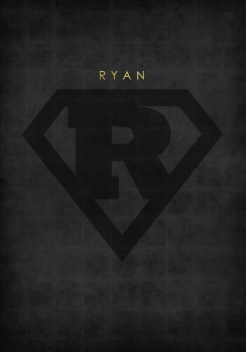 Download Personalized Name Book for Ryan with Superhero Logo (7x10 Notebook with Lined Pages): A Cool And Motivational Journal/Composition Book To Write In For ... Uncle, Friend and Other Men in Your Life pdf epub