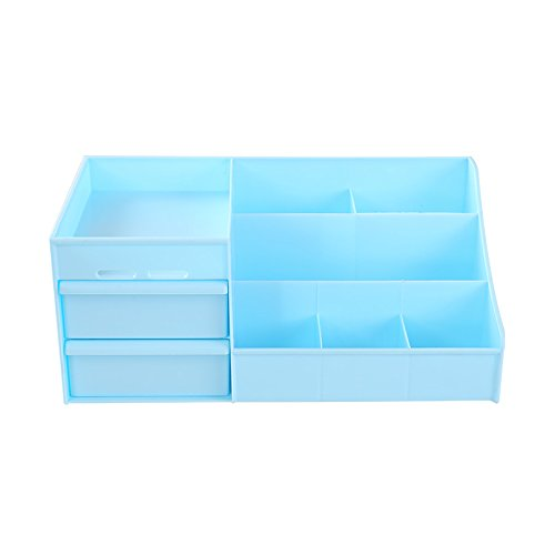 Kweiw Drawer Large Storage Boxes Cosmetic Desktop Plastic