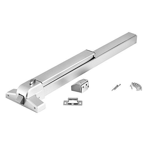 Happybuy Door Push Bar Panic Exit Device Commercial Emergency Exit Bar Panic Exit Device Suitable for Wood Metal Door (Push ()