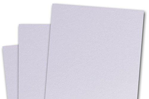 (Blank Basis Light Purple 4x6 Flat Cards - 50 Pack)