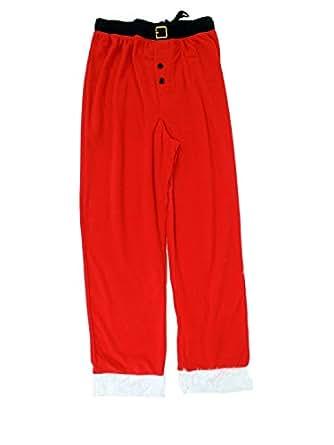 Santa Pajamas Bottoms for Men XL