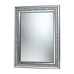 Sterling Sardis Mirror, Brushed Steel