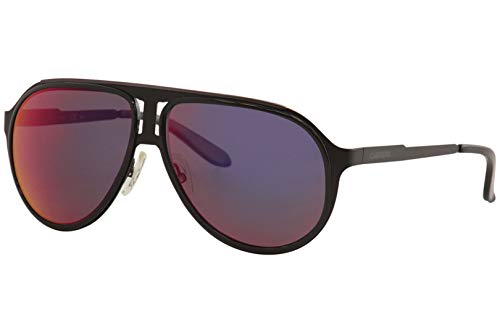 (Carrera 100/S Sunglasses CA100S-0HKQ-MI-5912 - Black Ruthenium Frame, Gray Infrared Lenses, Lens)