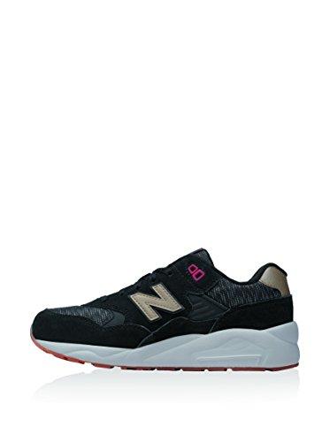 New Balance 580 Garcon Baskets Mode Noir