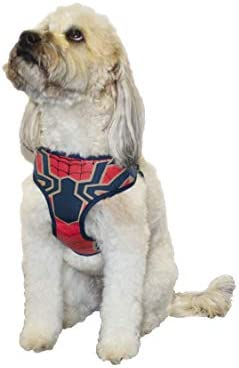 Marvel Comics Spiderman Dog Harness Small | Best Avengers Infinity War Harness For All Small Dogs