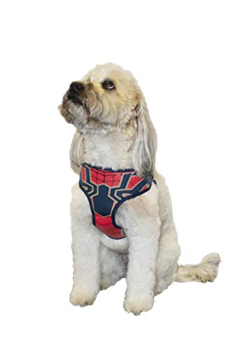 Marvel Comics Spiderman Dog Harness, Small | Best Avengers Infinity War Harness For All Small Dogs