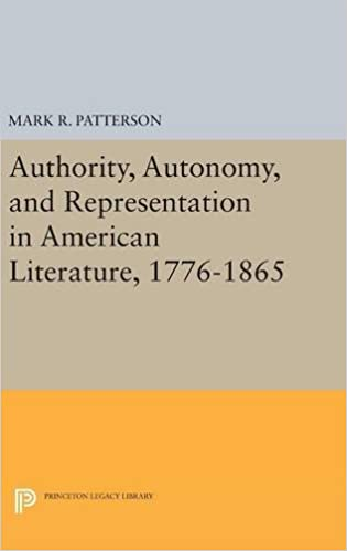Book Authority, Autonomy, and Representation in American Literature, 1776-1865 (Princeton Legacy Library)