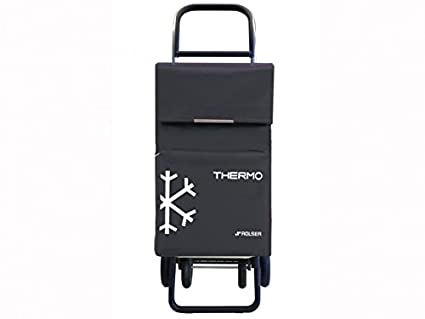 Rolser TER039 Quattre - Carro de la compra con 4 ruedas y bolsillo térmico, color