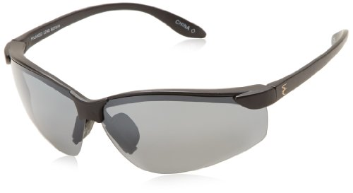 Solar Comfort Classic Shield Rectangular Sunglasses,Black,83 - Comfort Sunglasses Solar