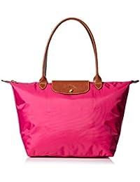 Longchamp Le Pliage Large Shoulder Tote Bag, Cyclamen