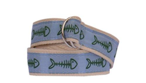 Boys Preppy Belts (Bean Belts Boy's Preppy Bonefish Belt (Medium)