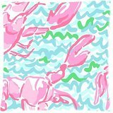 Surprise Coming Lilly Pulitzer Custom Zippered Pillow Case Cover Cushion Case 18x18 Inch (Two sides)