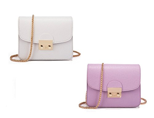 for Bag Purse AIK Crossbody Chain Formal Women Shoulder Small Off Clutch Bags Evening White Bag qwSwYUt