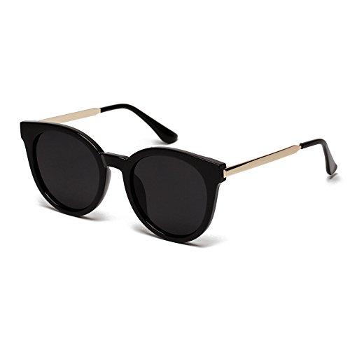 EFINNY Fashion Unisex Glasses Crystal Frame Retro Marine Lense - Sunglasses White Bubble