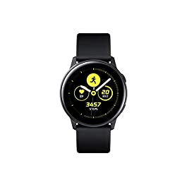 Samsung Galaxy Watch Active (40MM, GPS, Bluetooth ) Smart Watch with Fitness Tracking, and Sleep Analysis – Black  (US Version)