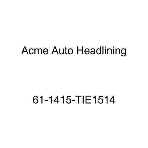 Acme Auto Headlining 61-1415-TIE1514 Silver Blue Replacement Headliner (1961 Chevrolet Impala 4 Door Hardtop 5 ()