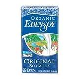 EdenSoy Organic Original Soymilk 32 oz (Pack of 12) ( Value Bulk Multi-pack)