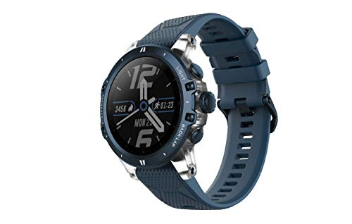 COROS VERTIX GPS Adventure Watch with Pulse Oximeter,Titanium Bazel/Cover with Sapphire Glass (DLC Coating),24/7 Blood Oxygen Monitoring, Trainer and Ultra-Durable Battery Life (Ice Breaker)