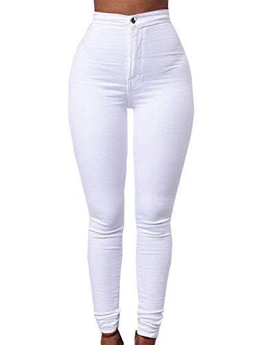 Lo Stretch Basic Denim Candy Skinny Hx Décontracté Blanc Mesdames Moderne Fashion Jeans Couleurs FJc3lT1K