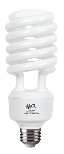 Full Spectrum Replacement Bulbs (Goodlite G-10877 42-watt Replacement Full Spectrum Compact Fluorescent 2850-Lumen 6500K T4 Spiral Light Bulb, Daylight)