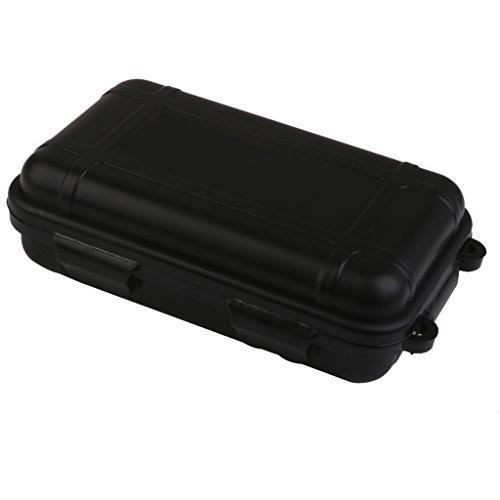impermeabile Srovfidy misura S Contenitore per kit di sopravvivenza per avventure all/'aperto colore nero antiurto in plastica