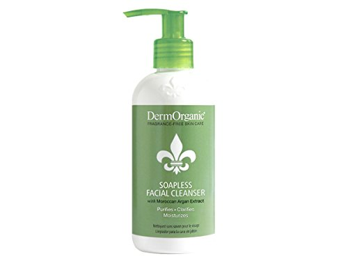 Dermorganic Soapless Facial Cleanser, 8.5 Ounce