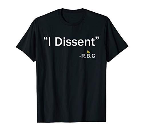 Funny I Dissent RBG | Ruth Bader Ginsburg t-shirt