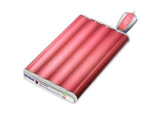 BUSlink 160GB SSD CipherShield 128-Bit USB 2.0 Slim Portable Drive by Buslink (Image #1)