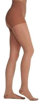 ef173ba19d6 Juzo Attractive 20-30 mmHg Closed Toe Compression Pantyhose 4601AT in Beige  Regular Length