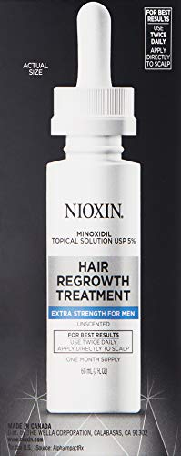 Nioxin Minoxidil Hair Regrowth Treatment Men, 6 oz. by Nioxin (Image #3)