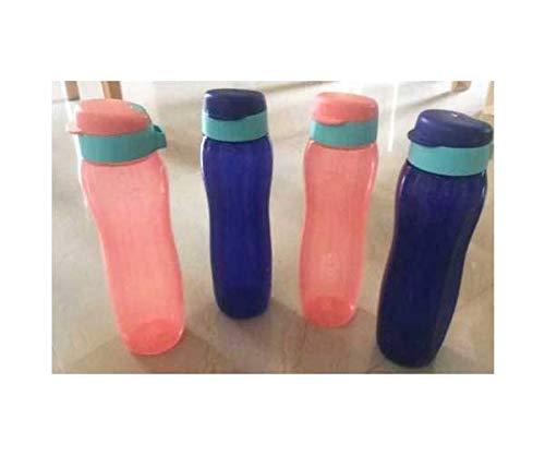 Tupperware Eco fácil Botella de 750 ml 4 set (4 * 750 ml), Multicolores: Amazon.es: Deportes y aire libre