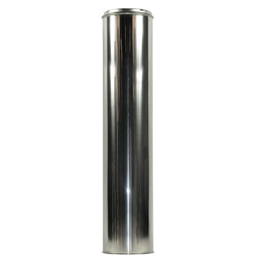 "Shasta Vent 8"" x 48"" Class A, All Fuel, Double Wall, Insulated, SS  ""Chimney Pipe""  8"" Dia. x 48"" Length"