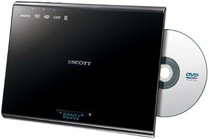 Scott Dmx 25 Hbk Vertikaler Dvd Player Hdmi Usb Sd Für Filme Musik Und Fotos Wandmontage Möglich Schwarz Heimkino Tv Video