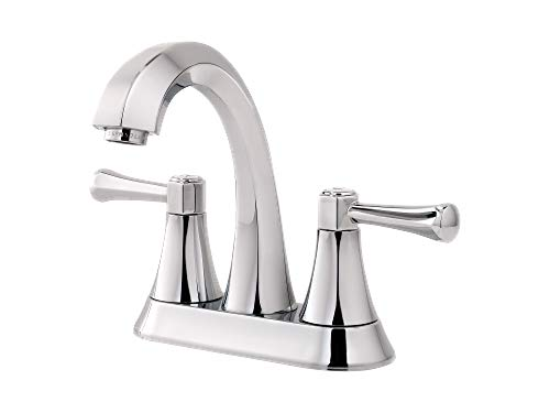 Pfister LF-048-AVCC-R Altavista 2-Handle 4in Centerset Bathroom Faucet in Polished Chrome (Renewed)